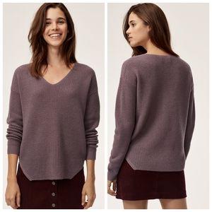 ARITZIA | WILFRED 100% Merino wool sweater